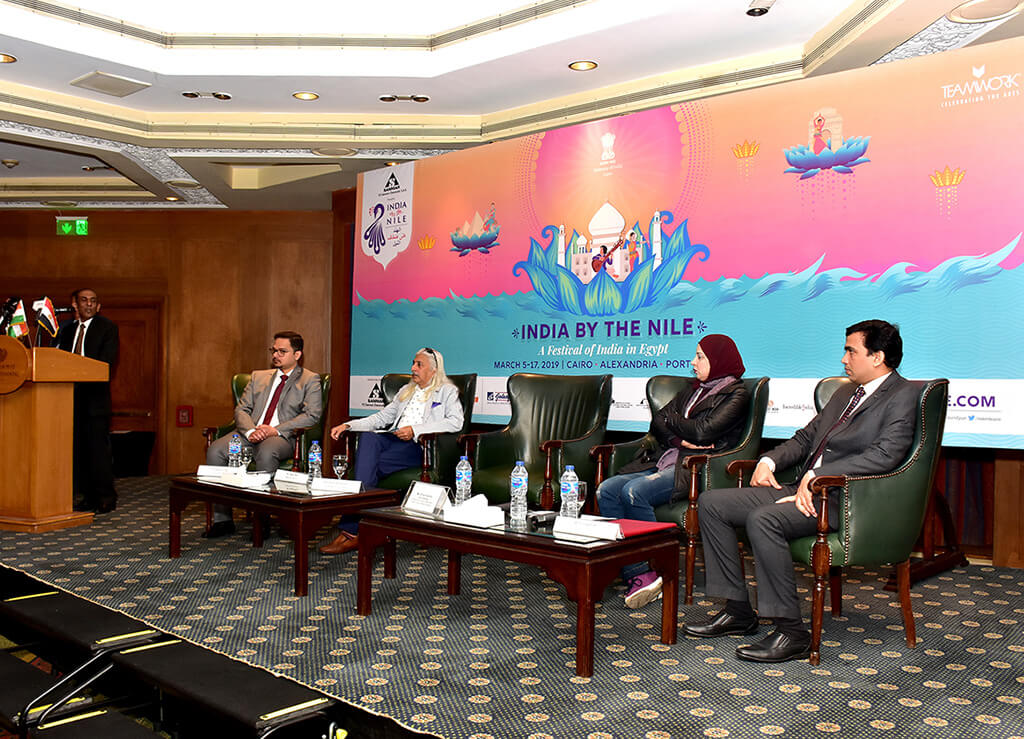 Press Conference of the 7th edition of India by the Nile